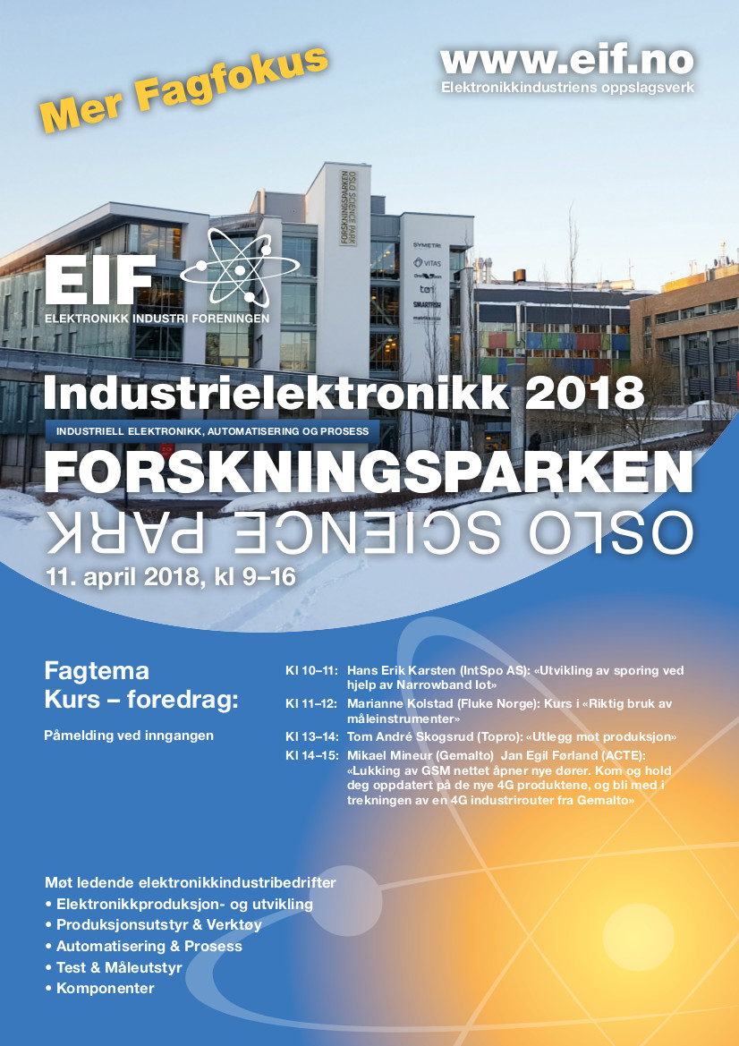 Industrielektronikk 2018